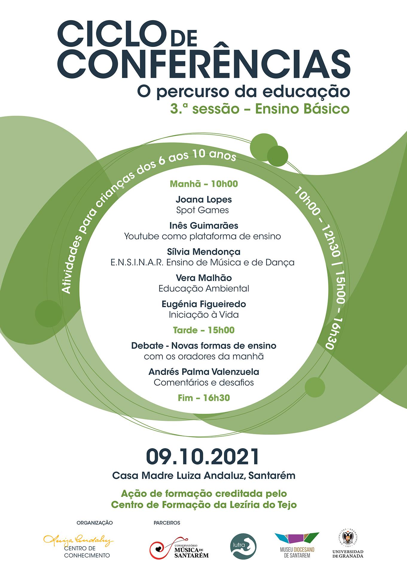 Cartaz Ciclo de Conferências